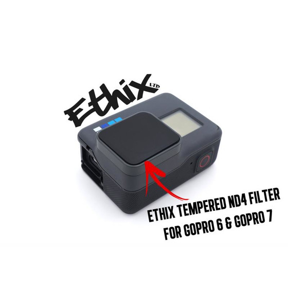 TBS ETHIX Tempered ND4 Filter für GoPro 7 + 6