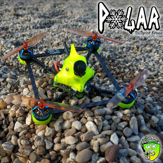 POLAR 2/2,5 Toothpick - Frame FPV-Couple